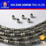 Vacuum Brazed Diamond Wire Saw for Marble Cutting