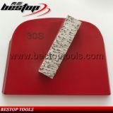 30# Soft Bar Segment Lavina Grinding Block for Hard Concrete