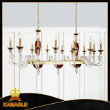 Warm Style Modern Hotel Lobby Glass Chandelier (MD9837B-14)