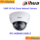 4K IP Camera Dahua 12MP 50m IR H265 Poe Dome Indoor Surveillance Network Security Camera Ipc-Hdbw81230e-Z