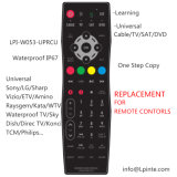 Waterproof Remote Control for Hotel TV SPA TV Outdoor TV Unviersal and Learning