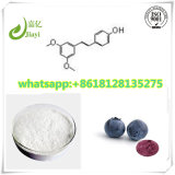 Natural Herbal Extracts Powder Pharmaceutical Intermediates 99% Pterostilbene CAS 537-42-8