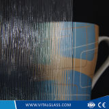 3-6mm Clear Flute Patterned Glass with CE&ISO9001