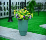 High Quality Garden Product Colorful Flowerpot Plastic Round