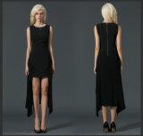 2016 Latest Fashion European Style Long Black Women Dress