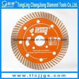 Continous Diamond Wet Cutting Saw Blades for Ceramic, Marble, Granite