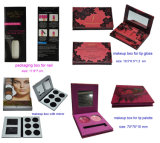 Lip Palette Boxes with Mirror, Paper Cosmetic Makeup Boxes