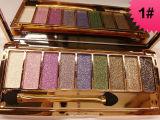 9 Colors Diamond Shimmer Glitter Eye Shadow Palette Eyeshadow Pigment Eye Glitter Eyeshadow by Vigny Winnie