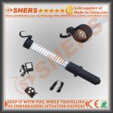 Rechargeable 60 LED Working Light 9 LED Flashlight