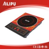 Induction cooker with Prevent slippery stainless steel ring