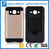 Brush Satin Shockproof Back Cover for Samsung Galaxy J5