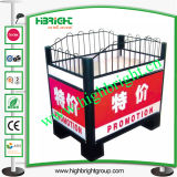 Supermarket Square Promotion Table Promotion Display Stand