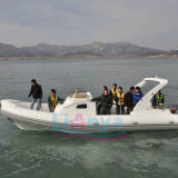 Liya 8.3m Cabin Inflatable Rib Boat Rubber Boat for Sale