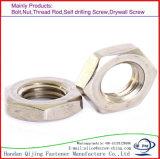 Stainless Steel, Hex Thin Nut, Jam Nut DIN439