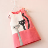 Fashion Girl′s Vest Dress Clothes for Children Clothing