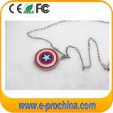 Round Shape Necklace USB Flash Stick Drive for Girl (EM215)