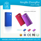 Top Quality 5200mAh Power Bank with LED Torch Black White Purple Red Color Available