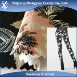 Woven Printed Rayon Nylon Spandex Elastic Fabric for Women Pants