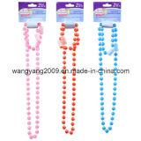 Just Pretending Pearlized Bead Necklace & Bracelet Sets