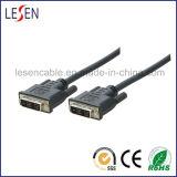 DVI Cable, DVI Plug to DVI Plug, 18 + 1 Single Link
