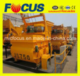 Automatic Electric Double Axle Mixer, Js750 Twin Shaft Concrete Mixer