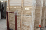 Imported Beige / Cream Travertine Slab for Vanity Top and Tile