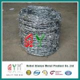 Gauge 12-1/2 Galvanized Barbed Wire/ 2.5mm Barbed Wire Roll