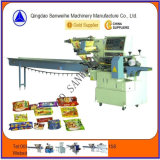 Swsf-450 High Speed Bread Cake Biscuit Automatic Packing Machine