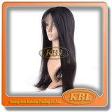 Quality Silk Top Italian Yaki Full Lace Wig for White Women