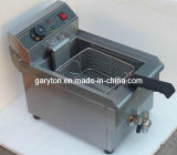 Single Tank Electric Fryer for Frying Food (GRT-E17V)