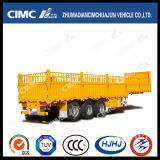 3 Axle Stake/Cargo/Fence Twist Locks Carrying Container Semi Truck Trailer