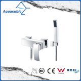 Wall Mount Chromed Single Handle Two Holes Shower Faucet (AF6004-4)