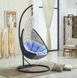 New Outdoor Swing, Rattan Furniture, Rattan Basket Rattan Hanging Swing Chair D009