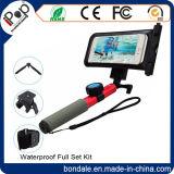 Waterproof Bluetooth Selfie Stick with Sport Kit Set for Smartphone