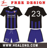 Healong Any Logo Custom Digital Sublimation Printed Cheap Football Uniforms