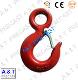 Carbon Steel Eye Hook with Safety Latch, 320c, Lifting Hooks