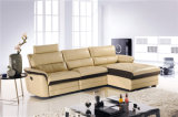 Genuine Leather Chaise Leather Sofa Electric Recliner Sofa (747)