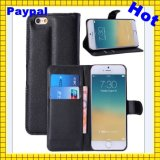 Hot Factory Price Flip for iPhone 5s Leather Case(GC-I008)