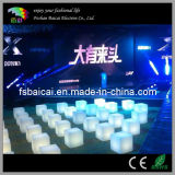 Rechargeable LED Cube Chair with Remote Control
