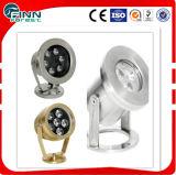 6W Stainless Steel LED Pool Underwater Light LED Fountain Underwater Spot Light