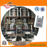 ABA Double Screws Double Head Dies Co-Extrusion High Speed Film Making Machine