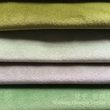 Short Pile Velour Super Soft Polyester Fabric for Sofa