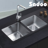 Double Bowl Kitchen Sinks Stainless Steel