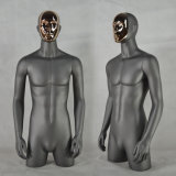 Fiberglass Male Torso Mannequin with Changeable Face