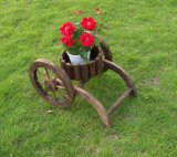 Brown Plant Holder Garden Pot for Flowers