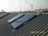 Slope Roof Heat Pipe Solar Collector with Solar Keymark Certificate