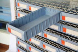 Wire Shelf Rack with Storage Bins (WSR19-5209)