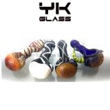 Honeycomb Colored Glass Spoon Pipe Smoking Hookah