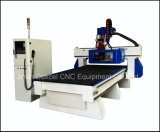 9.0kw Furniture 8 PCS Tools Atc Woodworking CNC Routers Machine Vacuum Table Dek-1325