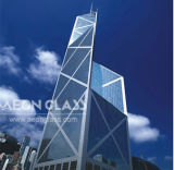 2mm-19mm (Clear, Tinted, Reflective, Laminated, Tempered, Patterned etc) BUILDING GLASS with CE&ISO Certificate